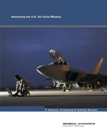 Air Force Solutions Brochure - General Dynamics Information ...