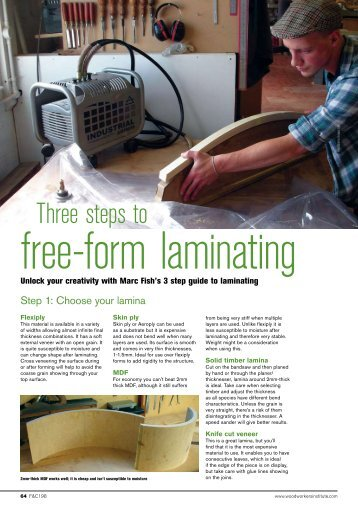 3 Steps to Laminating - Marc Fish