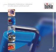 Abfüllgeräte | Probennehmer | Laborgeräte für Labor ... - Bürkle GmbH