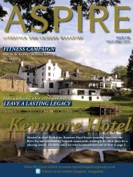 Fitness Campaign Leave a Lasting LegaCy - Aspire Magazine
