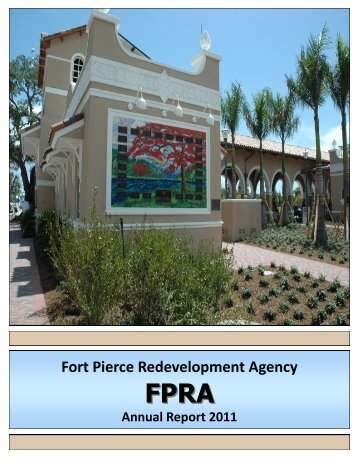 Fort Pierce Redevelopment Agency - City of Fort Pierce