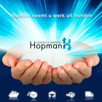 Brochure Hopman Logistics Services - Evo