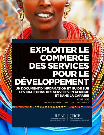 A Background and Guide on Service Coalitions - ILEAP
