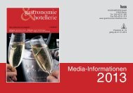 gastronomie & hotellerie - Huss Verlag
