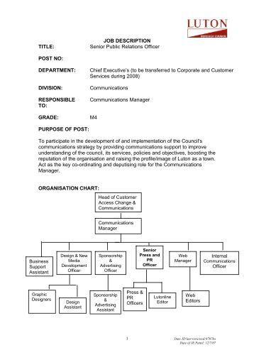 Public Transport Services Division Job Description Title