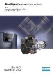 Compressori serie L range - Air Service