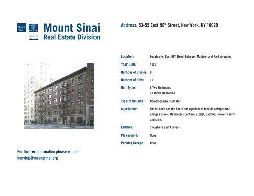 Address: 53-55 East 96th Street, New York, NY 10029 - Mount