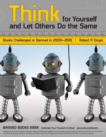 Books Challenged or Banned in 2009-2010 - American Library ...