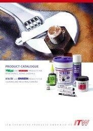 Catalogue - Lambert Products