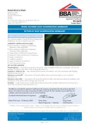 BBA Agrément Certificate 09/462 [ 456 KB PDF ] - Raven Roofing ...