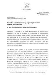 Ende - Mercedes-Benz Niederlassung Augsburg