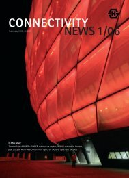 CONNECTIVITY NEWS 1/06 In this issue - Composites