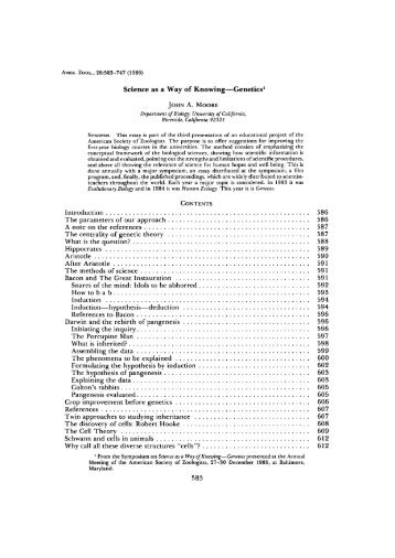the natural science of biology as a way of knowing Read chapter 6 understanding how scientific knowledge is the experiences and conditions that facilitate their understanding of science as a way of knowing students' grasp of scientific explanations of the natural world and their ability to engage successfully in scientific.