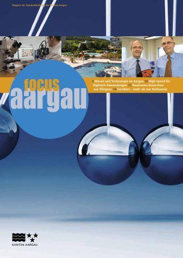 focus aargau - Kanton Aargau