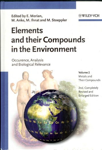 Elements and their Compounds in the Environment - CESEC