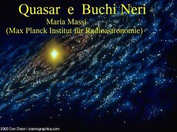Quasar e Buchi Neri - Mpifr-bonn.mpg.de