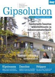 Knauf Gipsolution 3/2010