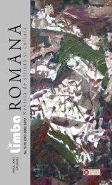 N - Limba Romana