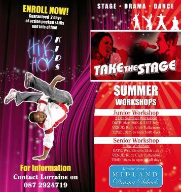 Midlands Drama School Summer School Brochure