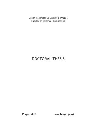 Summary report thesis