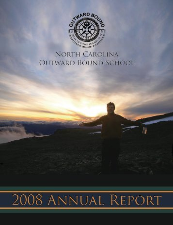 2008 Annual Report - North Carolina Outward Bound