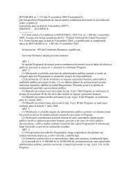 HOTARARE nr. 1.723 din 14 octombrie 2004 (*actualizata*) privind ...