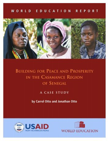 building for peace and prosperity in the casamance region of senegal