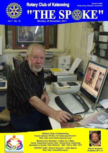 Vol 7-19-Nov 28 - Katanning Rotary Club