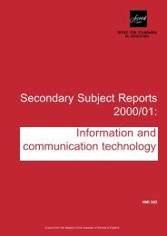ICT in secondary schools - tim-brosnan.net