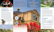 Christianity and Pollinators