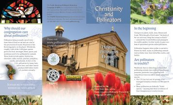 Christianity and Pollinators