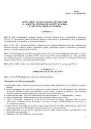 1 regulament de organizare şi funcţionare al direcţiei generale de ...