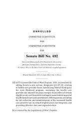 Senate Bill No. 492 - State Coverage Initiatives