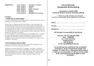 Flyer en antwoordstrookje om je in te schrijven - Borstvoeding.com