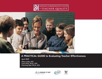 A Practical Guide to Evaluating Teacher Effectiveness - Kentucky ...