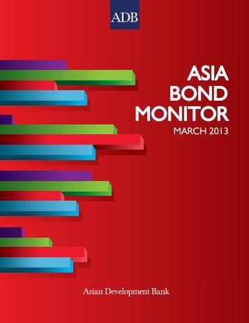Asia Bond Monitor - March 2013 - AsianBondsOnline - Asian ...