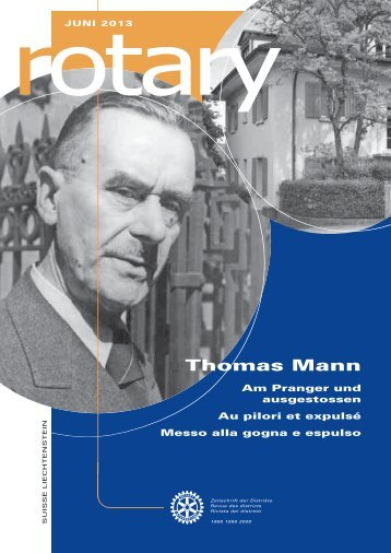 Thomas Mann - Rotary Schweiz