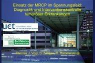 Institut für Diagnostische und Interventionelle Radiologie, JW ...
