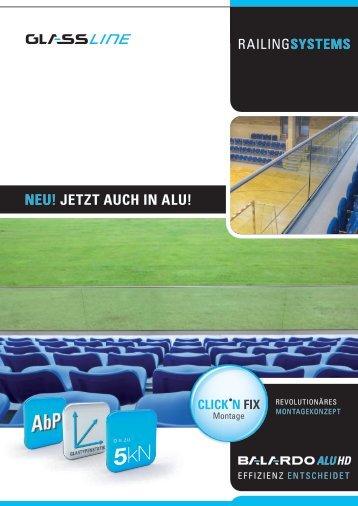 nEu! jEtzt auch in alu! - Glassline GmbH