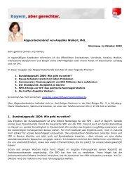 Abgeordnetenbrief September 09 - Angelika Weikert, MdL