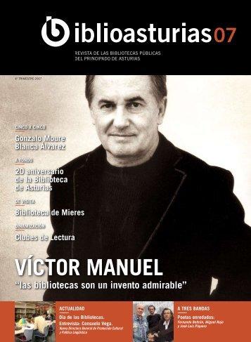 Revista nº 7_4º trimestre 2007 - Gobierno del principado de Asturias