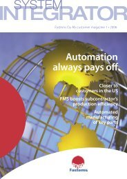 Automation always pays off - Fastems