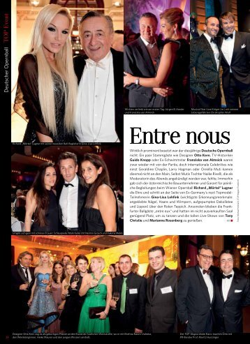 Deutscher Opernball 2012 - TOP Magazin Frankfurt