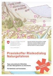 Praxiskoffer Risikodialog Naturgefahren (deutsch) - Planat