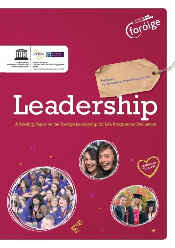 Youth Leadership Briefing Paper - Foroige