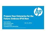 Prepare Your Enterprise for the Future: Embrace IPv6 ... - IPv6.org.au