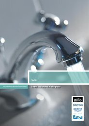 Taps Brochure - City Plumbing Supplies