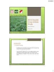 Field History Data Collection Sheet - Cornell University