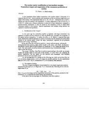 A.I Chklovskaia, V. Penev THE NUCLEAR MATTER ... - JINR