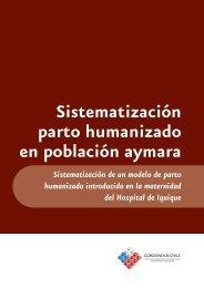 Sistematización parto humanizado en población aymara
